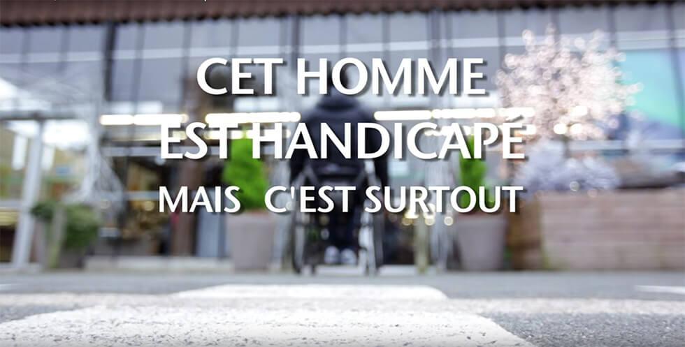 un clip percutant pour faire tomber les pr jug s sur le handicap handi vie. Black Bedroom Furniture Sets. Home Design Ideas